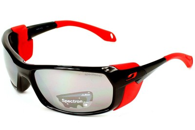 Очки Julbo Bivouak Shiny Black/Red